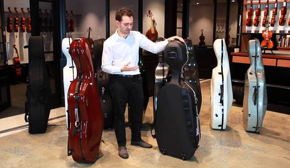 Cello cases comparison.