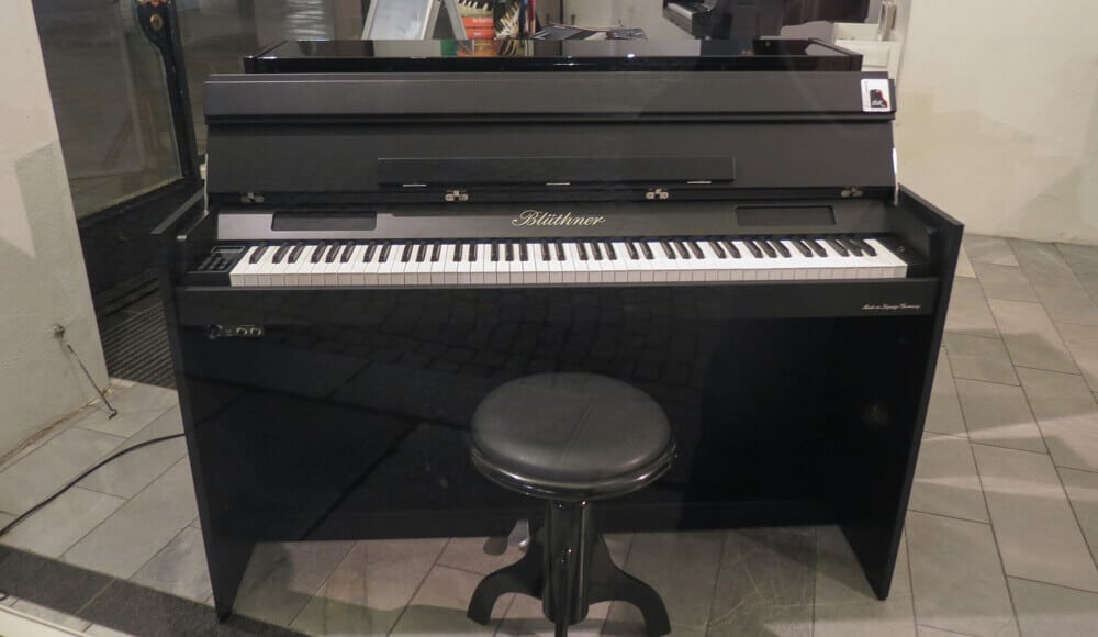 Entry-level digital upright piano.