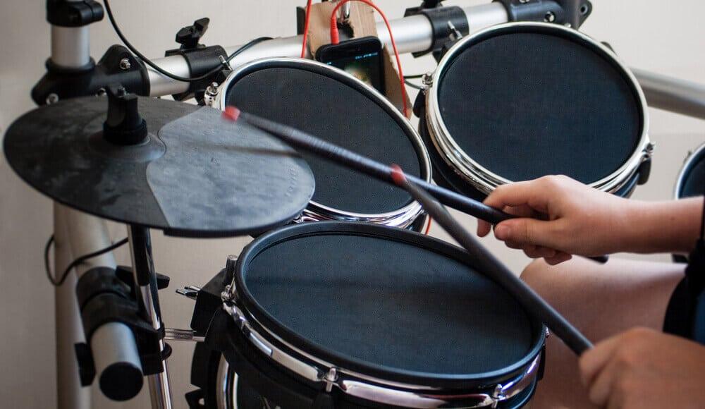 Beginner Entry-level digital drum kit.