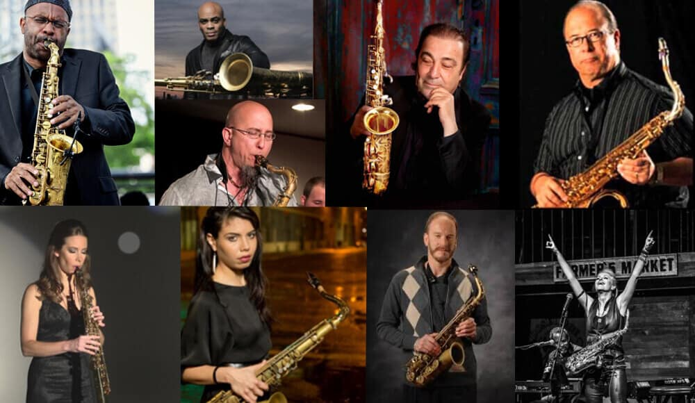 List of popular modern saxophonists.