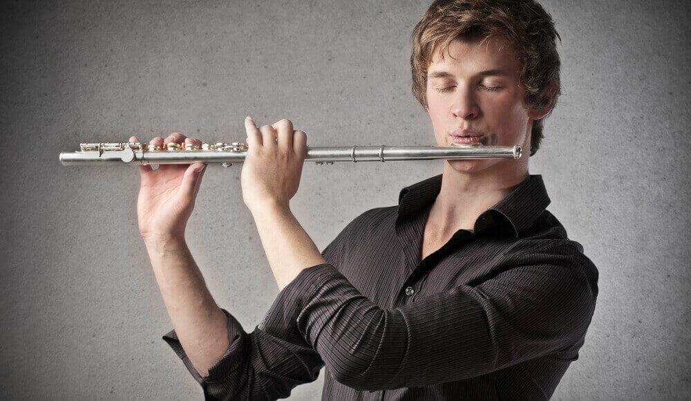 Male Flutist.