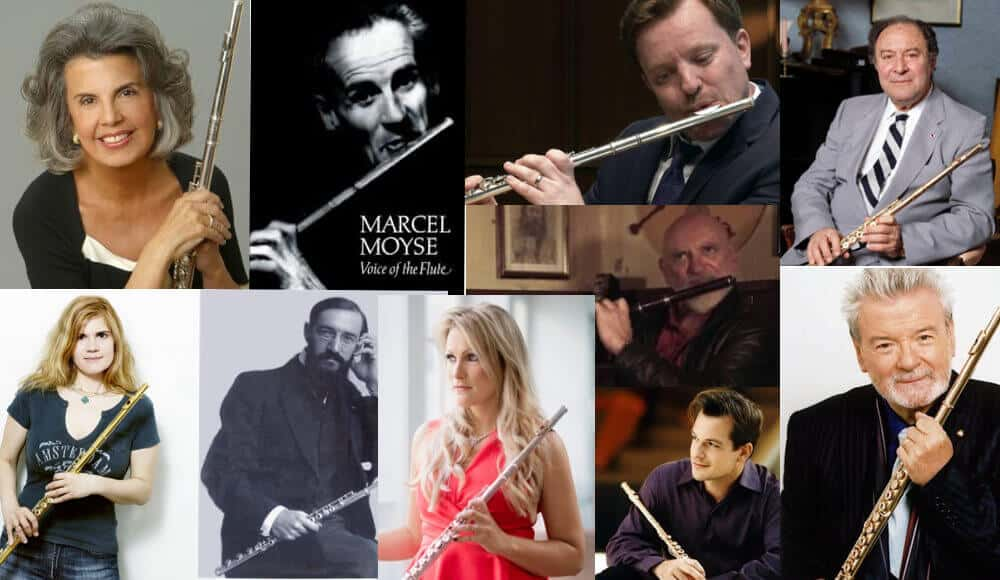 List of famous and top flutists in the world today.